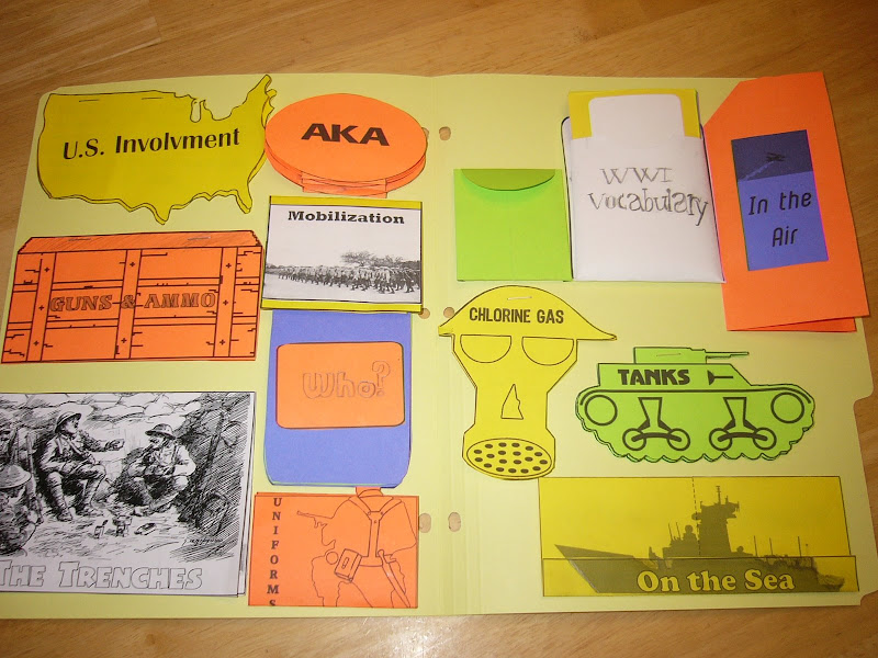 World War Lapbook