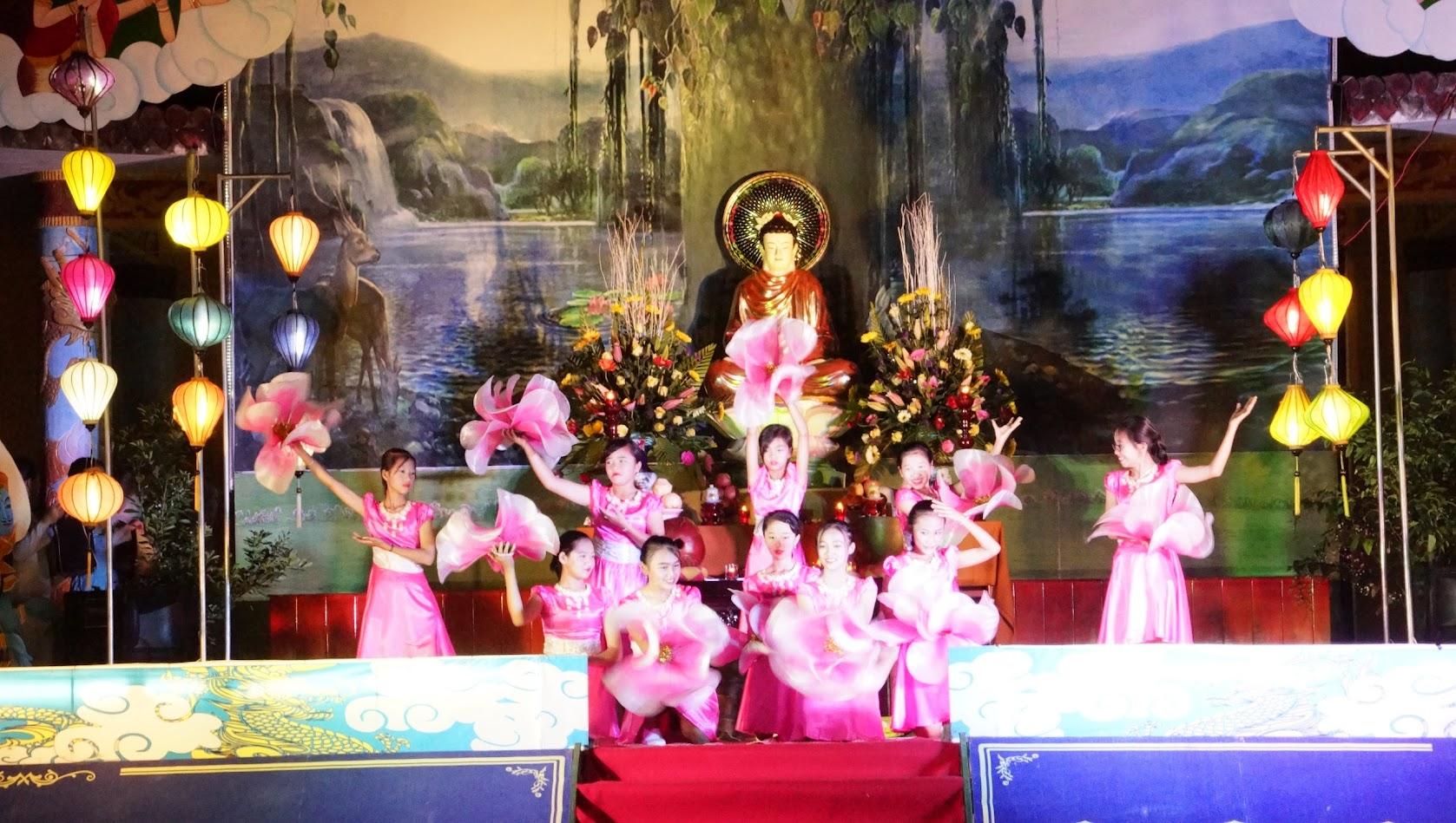 HÌNH ẢNH: Đại lễ Thành đạo PL.2561, tại chùa Từ Vân