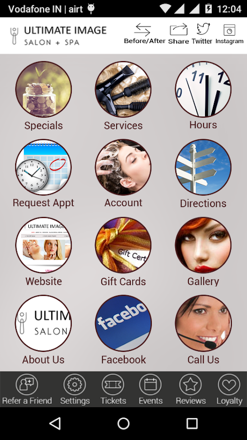 Ultimate Image Salon & Spa- screenshot