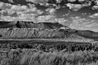 Photo: Near Springdale UT - 2nd place - B&W Scenics