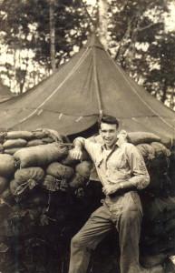 Jim in Solomon Islands in 1943