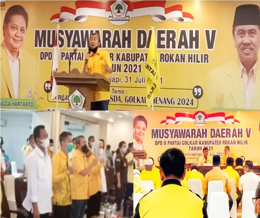 "Optimis, ""Partai Golkar Rohil di Tahun 2024 Bangkit Kembali"""