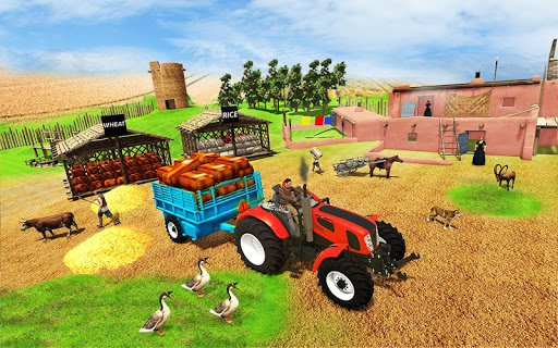 Real Farming Tractor Farm Simulator: Tractor Games android2mod screenshots 1