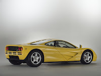 Brand new 1997 Yellow McLaren F1