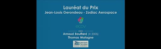 Lauréat Prix Zodiac