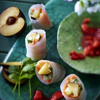 Fruit Spring Rolls.
