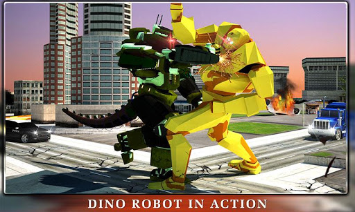 Dino Robot Transformation  screenshots 4