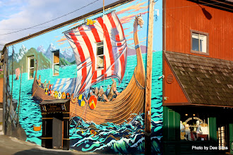 Photo: (Year 2) Day 338 -  Mural on the Side of a Building in Paulsbo