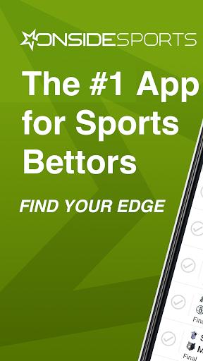 Onside Sports: Scores, Live Odds & Bet Tracking Screenshots 1