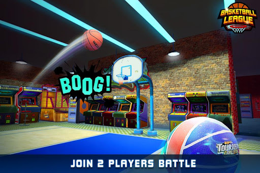 Basketball League - Online Free Throw Match - screenshot