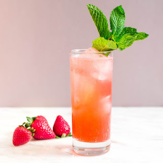 Strawberry-Mint Sparkler