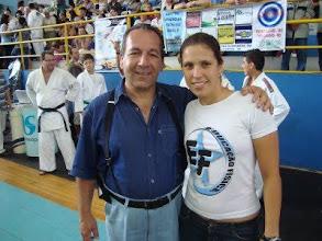 Photo: Profa. Fernanda Cristina - Torneio de Judô da Associação Hirakawa - Tênis Clube de São José dos Campos - 2009.