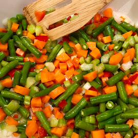 Mixed Vegetables  by Debbie Squier-Bernst - Food & Drink Cooking & Baking