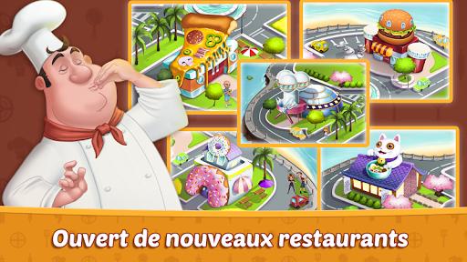 Code Triche Crazy Restaurant Chef - Jeux de Cuisine 2020 APK MOD screenshots 5
