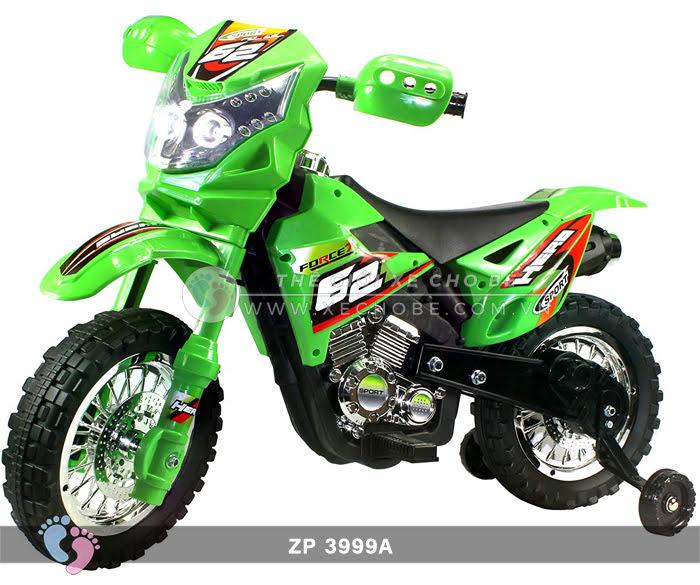 Xe mô tô điện 2 bánh địa hình cho bé ZP3999A 4