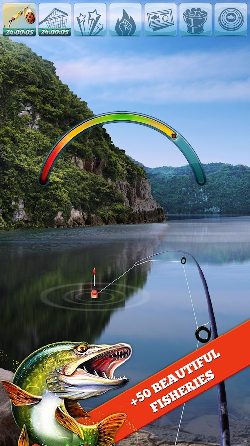 Let's Fish: Sport Fishing Game- screenshot