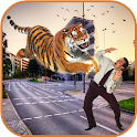 City Tiger Attack : Rampage 3D icon