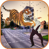City Tiger Attack : Rampage 3D