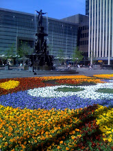 Photo: Fountain Square annual Flower display