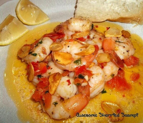 Awesome ~ Sherried ~ Scampi Recipe