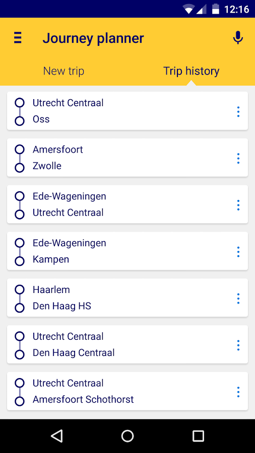 NS Reisplanner Xtra- screenshot