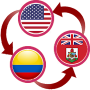 US Dollar To Colombian Peso and BMD Converter App