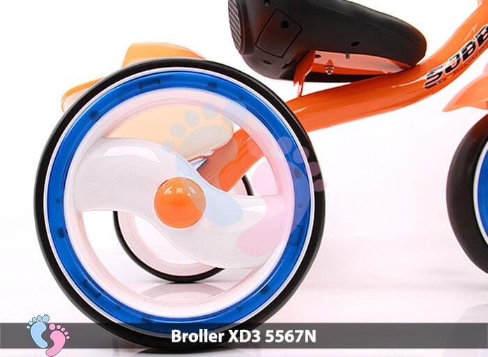 Xe đạp ba bánh Broller XD3-5567N 13