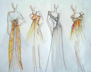 fashion sketch ideas screenshot thumbnail - Fashion Design Ideas