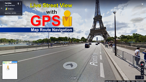GPS Map Route Navigation - Live Street View 1.0.3 screenshots 3