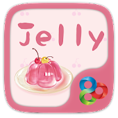 Pink Jelly GO Launcher Theme