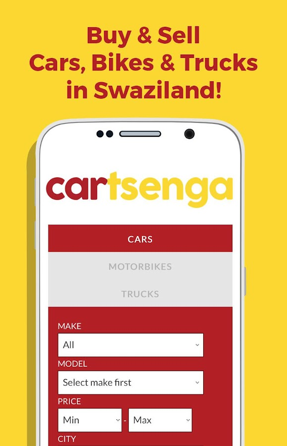 Buy&Sell Cars in Swaziland- screenshot