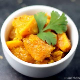 Kaddu Ki Sabzi / Indian Style Pumpkin.