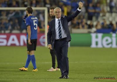 Officiel : Claudio Ranieri retrouve la Premier League et coachera un Belge