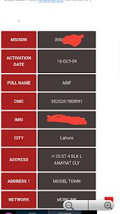 Sim Owner Details 2