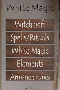 White Magic spells and rituals - náhled