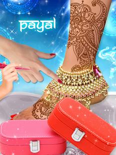 Indian Bride Fashion Wedding Makeover And Makeup - náhled