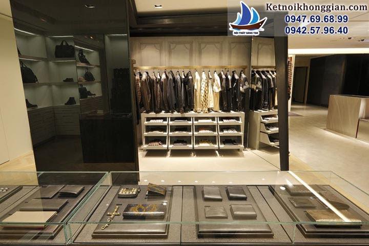 thiết kế shop thời trang nam đẳng cấp phong cách pháp