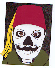 Photo: Mail Art 366 Day 23 card 23c +Ashraf El-Masry  because it has been far too long since I kicked out a fez