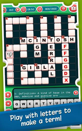 Advanced Sciences Crossword Puzzle Free Game apktram screenshots 18