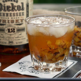 Grilled Pineapple Whisky Smash