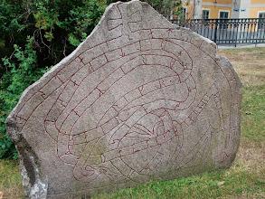 Photo: jeden z wielu - kamień runiczny