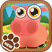 Village Farm: Animals Pet Kids