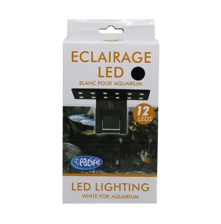 LED-Belysning 12-LED Svart