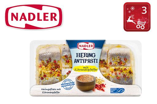 Bild für Cashback-Angebot: Nadler Hering Antipasti mit Zitronenpfeffer - Nadler
