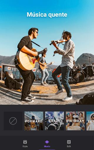 Video Maker: Editor de Vídeo com Fotos e Música screenshot 5