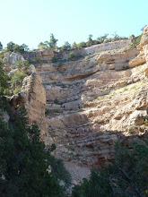Photo: South Kaibab Trail, premier tronçon dans la falaise