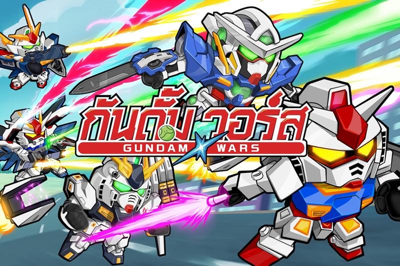 [LINE: GUNDAM WARS] ซิมูเลชั่นกันดั้มจาก Line!
