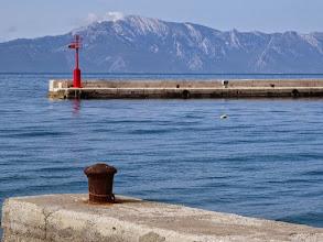 Photo: pogled na Sv.Iliju preko puta, na Pelješcu