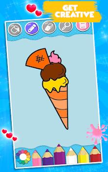 Indir Dondurma Boyama Kitabı Apk Son Sürüm Oyun Android Cihazlar Için