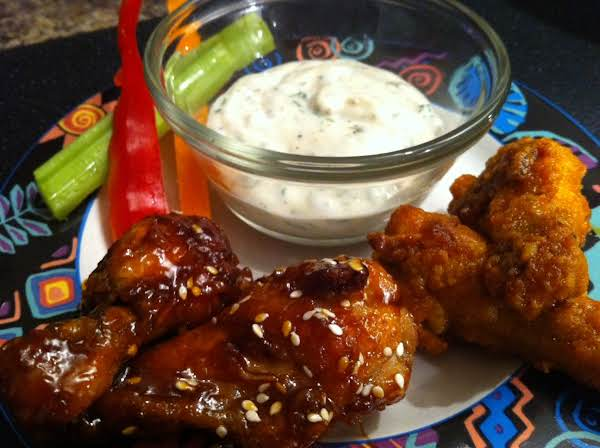 Baked Chicken Drumettes And Wings Recipe